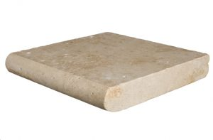 Ivory Select Travertine 12x12x2 Thick Pool Coping
